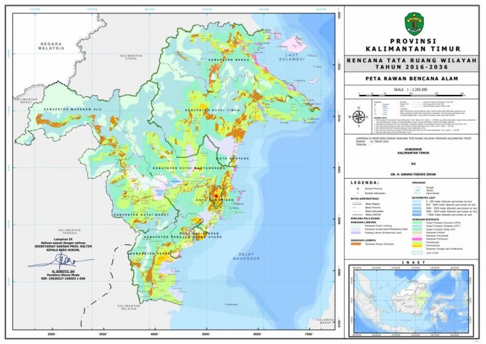 Peta Rawan Bencana Alam