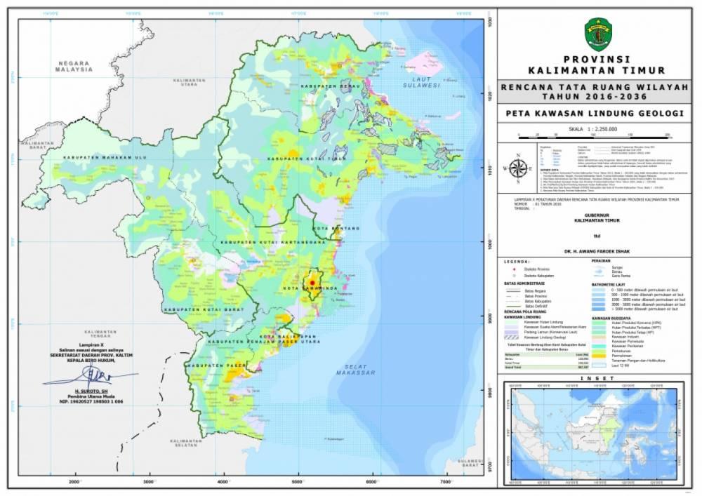 Peta Kawasan Lindung Geologi