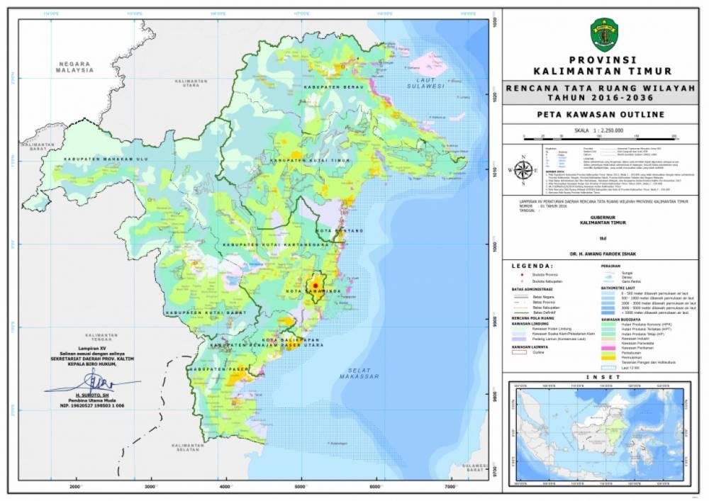 Peta Kawasan Outline