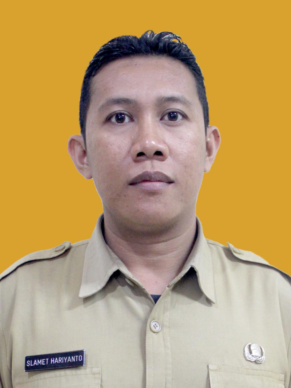 Foto Slamet Hariyanto A.Md.