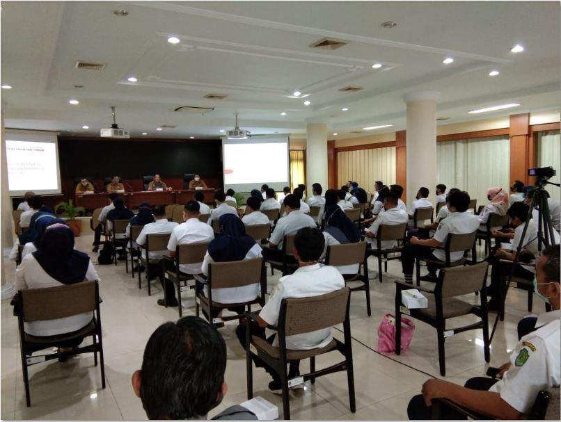Rapat Staf Non PNS dilingkungan Bappeda Provinsi Kaltim tahun 2021