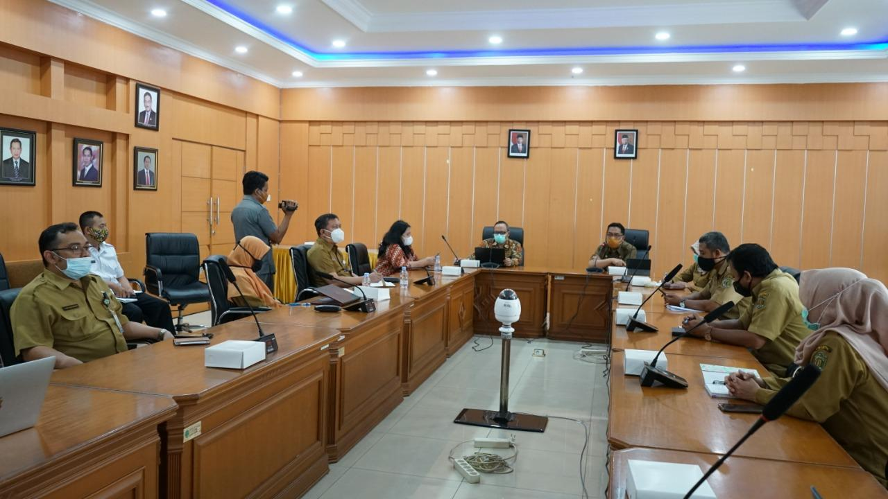 Audiensi Komisi Pemberantasan Korupsi dengan Bappeda Provinsi Kaltim